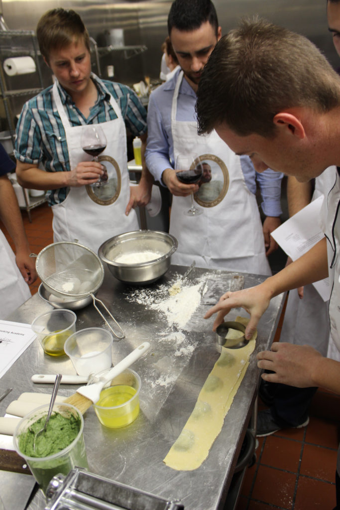 classic cooking academy bachelor party scottsdale