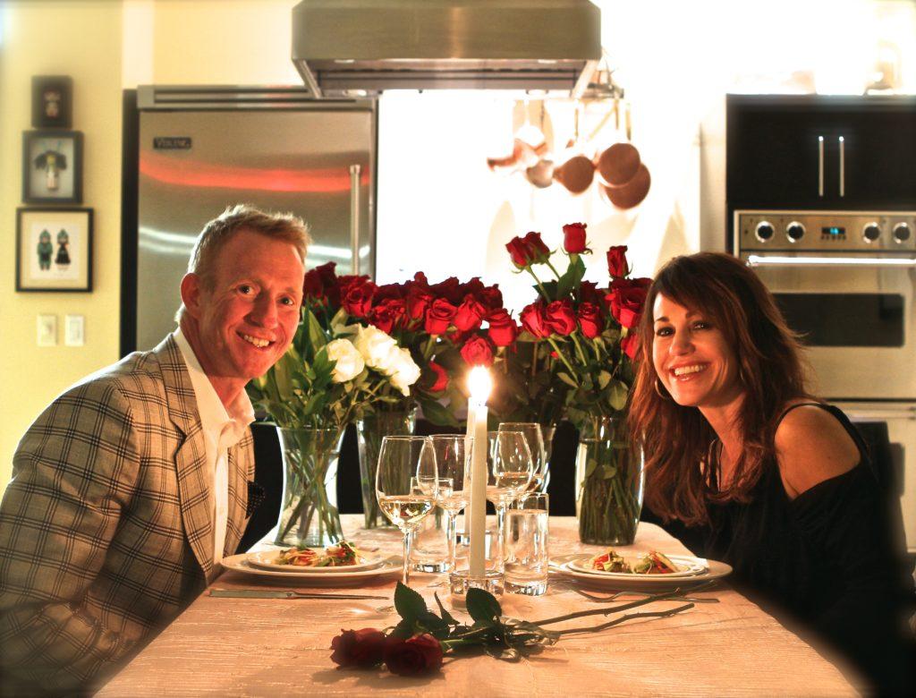 Scottsdale engagement private dinner